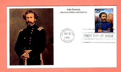 1994 #2869i 29c John Fremont - Legends West Mystic cachet FDC