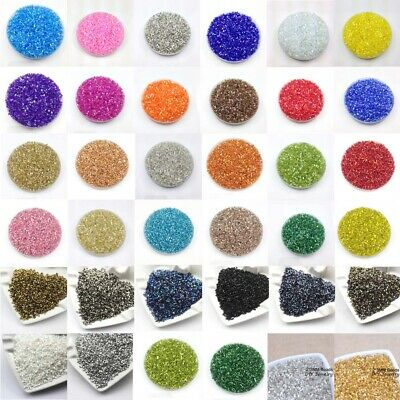 Wholesale Mix 1000pcs 2*3mm Tube DIY Czech Glass Seed beads Jewelry Making Craft