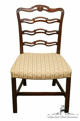 1940's ANTIQUE VINTAGE Mahogany Duncan Phyfe Ladderback Dining Side Chair
