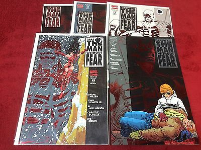 Daredevil Man Without Fear #1-5 (Marvel/0315157) Comic Book Complete Set Of 5