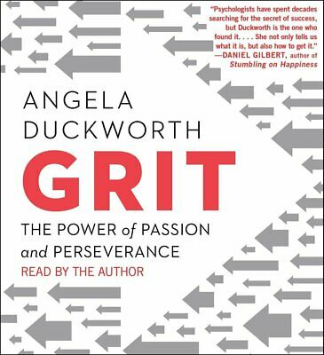 Grit - The Power of Passion and Perseverance by Angela Duckworth - Audiobook CD