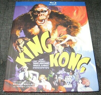 King Kong Blu-ray Disc Digibook 1933 Fay Wray Authentic USA OOP Robert Armstrong