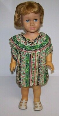 """Chatty Cathy 20"""" Girl Doll by Mattel Vintage 1960s Good Condition"""