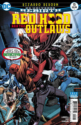 Red Hood And The Outlaws #15 (NM)`17 Lobdell/ Soy (Cover A)