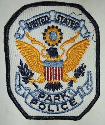 Park County Colorado Police Patch Sew On Eagle American Flag Cop Wreathe Gold