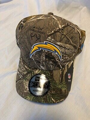 release date 0d352 18f88 9Forty New Era Chargers Camo Realtree Nfl Football Hat Cap Adjustable Nwt