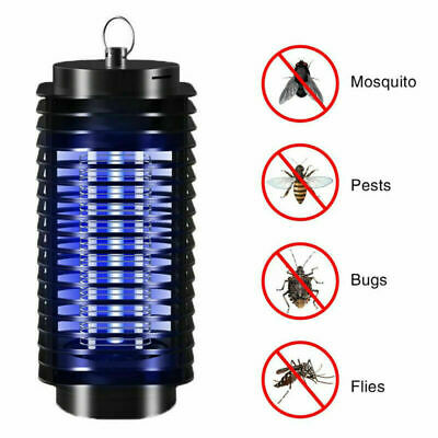 Electric 220V UV Light Mosquito Killer Fly Bug Insect Zapper Trap Catcher Lamp