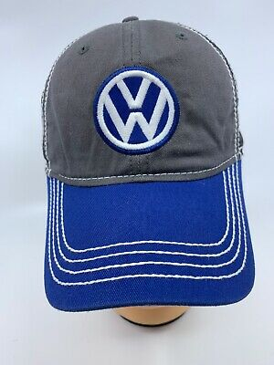 9cb38d60c HAT - VW Volkswagon Mesh Embroidered Vented Trucker Style Ball Cap ...