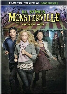 R.L. Stines Monsterville: Cabinet of Souls (DVD, 2015) - NEW!!