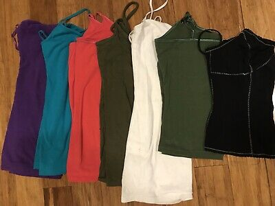 8f707557ff538f LOT OF 7 Girl s Justice Tank Tops   Camis - Size S   M -  5.00 ...