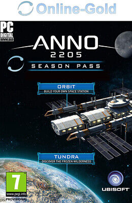 Anno 2205 - Season Pass Key UPLAY Ubisoft PC Aufbaustrategie digital code[DE/EU]