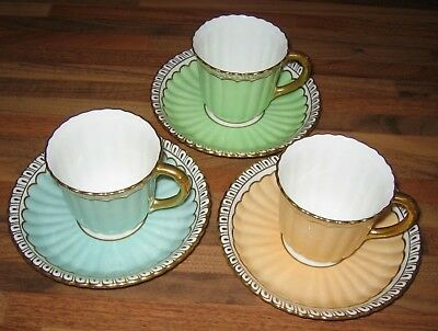 Royal Crown Derby Demitasse Coffee Cup and Saucer