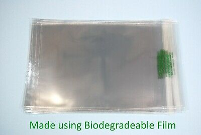 Biodegradeable Clear Cello Standard Card Bags - Cellophane Display Bags