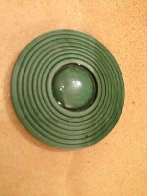 Antique Green Bakelite Button For The Collector