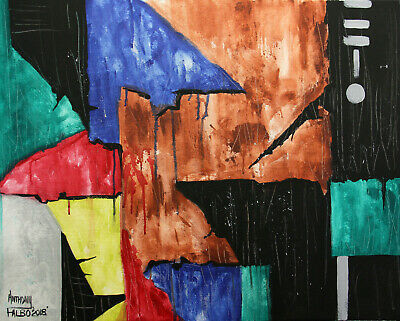 Without Love 2 Timothy 3 1-9 Original Abstract Painting Jesus Anthony R Falbo
