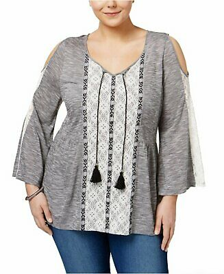 79ff8c7eb87ac STYLE   CO... Cold-Shoulder Peasant Top -  8.40