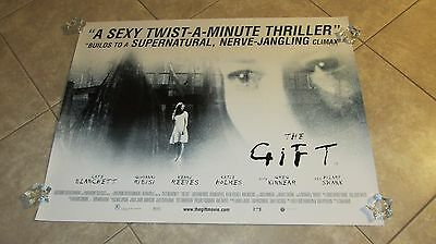 THE GIFT movie poster CATE BLANCHETT poster, KATIE HOLMES poster
