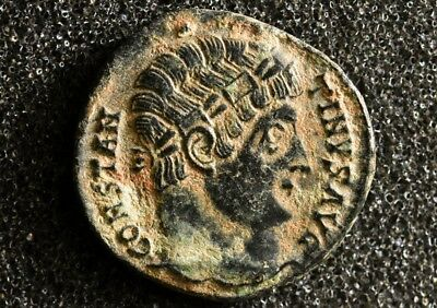 Saint CONSTANTINE I. The Great 307-337 AD. Camp Gate Ancient Roman Imperial coin