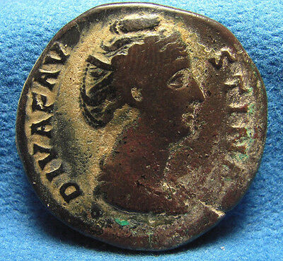 Faustina I (Senior), AE Sestertius wife of Antoninus Pius