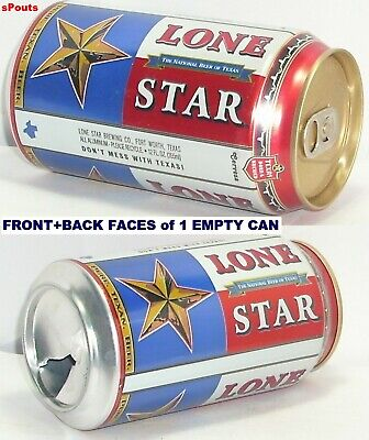 Fort Worth National Beer>Texas Flag Can Lone Star Don't Mess With Tx  Pure Texan