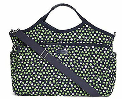 Vera Bradley LUCKY DOTS Carryall Travel Bag Tote Carryon Trolley Sleeve NWT