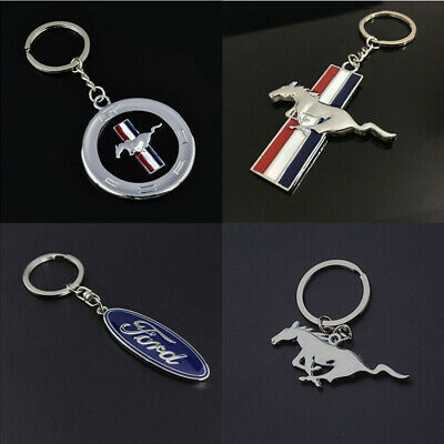 Fashion New 3D Car Logo Keyring Keychain Metal Pendant Key Holder for Ford Gift