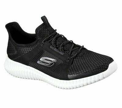 MENS SKECHERS ELITE Flex Lace Up Gym Memory Foam Sports