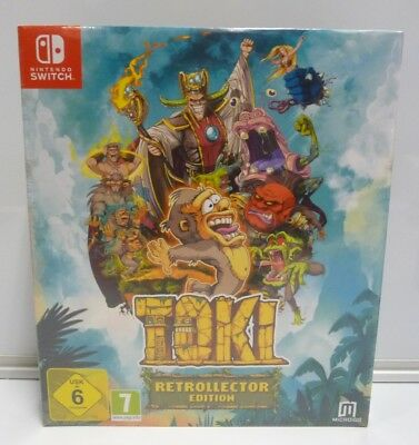 Toki Retrocollector Edition  Nintendo Switch Limited Edition Pal