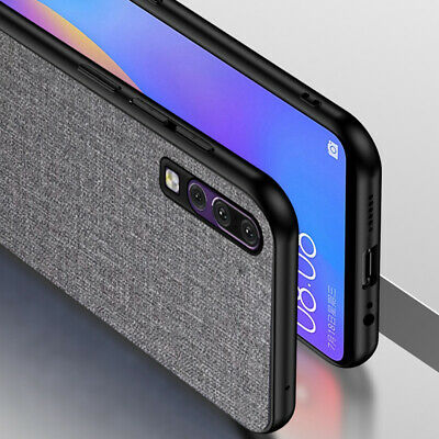 For Huawei P30 Pro P30 Lite Luxury Shockproof Soft TPU Fabric Case Back Covers