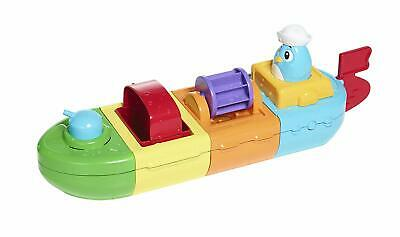 TOMY Toomies Mix and Match Motor Boat Motorised Bath Toy Suitable From 10 Months