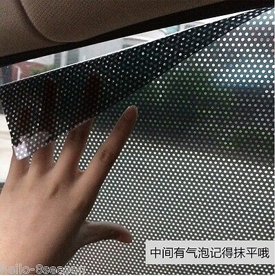 2PCS x Car Auto Accessories Curtain Side Window Stickers Sun Shade UV Protection