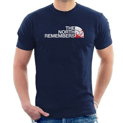 THE NORTH REMEMBERS T-SHIRT Game of thrones Face TV Series ALL SIZES C40