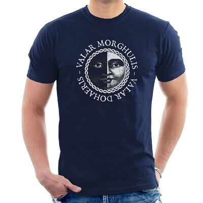 VALAR MORGHULIS T-SHIRT Game of thrones Stark dragon TV Series ALL SIZES C46