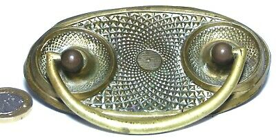 Elegant Brass Antique Chest/Drawer/Door Pull Handle Early Victorian