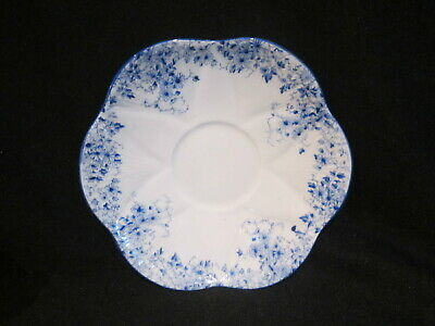 Shelley - DAINTY BLUE - Demitasse Saucer Only