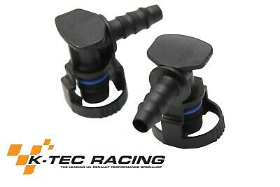 K-Tec Racing Clio 2 RS (172/182) Fuel Rail Connectors (Pair)