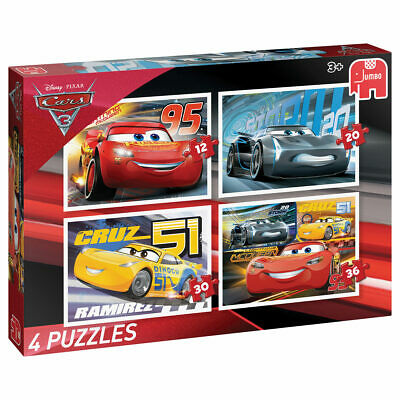 Puzzle Cars 3 - 4 in 1