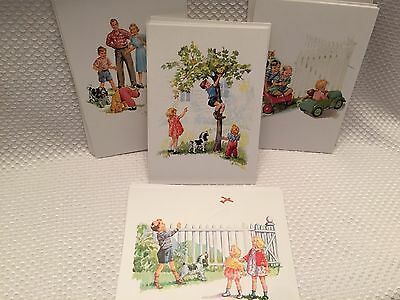 FUN WITH DICK & JANE BOXED NOTECARDS 2ND SERIES 19 Cards 18 Envelopes RARE