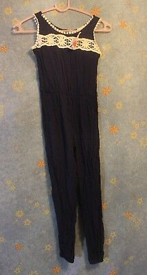 5a0db0db080a Kiddo by Katie Jumpsuit Navy Blue Girls Size 8