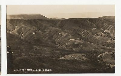 South Africa, Valley Of A Thousand Hills, Natal RP Postcard, A660a