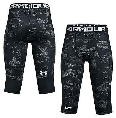 Sporting Goods Youth M Xl Black 1314338 Under Armour Basketball Steven Curry Leggings Youth S Sraparish Org