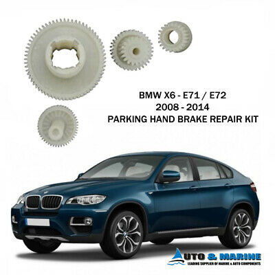 Bmw X6 E71 E72 Parking Hand Brake Actuator Repair Kit 2008 2014 Ship From Uk !