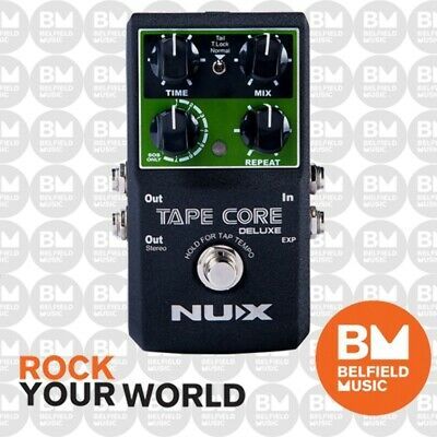 NU-X Tape Core Deluxe Tape Echo Effects Pedal - Brand New - NUX