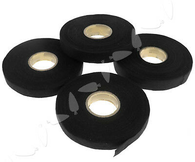2 PCS Tesa Adhesive Cloth Tape For cable harness wiring looms 25 M x 15/19mm