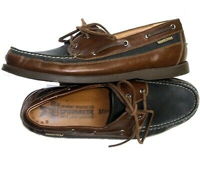 18ca1d621a2 MEPHISTO Hurrikan Spinnaker 12 Black Brown WATERPROOF Oxford Boat Shoe  EXCELLENT