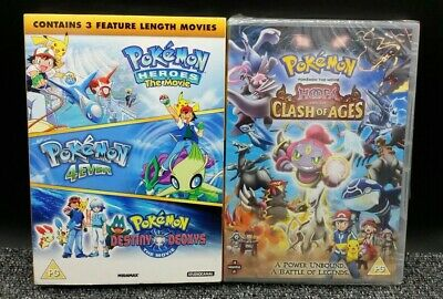 Pokémon Triple Movie Collection + Pokémon the Movie Hoopa Clash of Ages [DVDs]