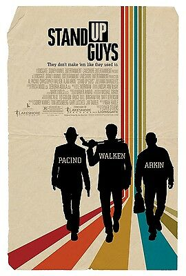 Stand Up Guys movie poster   : 11 x 17 inches : Al Pacino, Christopher Walken