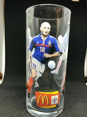 "verre football finale 1998 ""France 98"" Mac do"