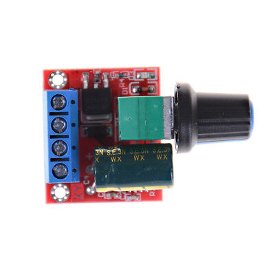 Mini DC Motor PWM Speed Controller 5A 4.5V-35V Speed Control Switch LED Dimme AS