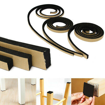 2M 10-20mm Self Adhesive Foam Sealing Tape Strip Sticky EPDM Sponge Strong